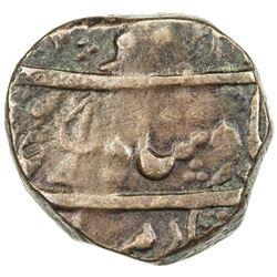 DURRANI: Mahmud Shah, 2nd reign, 1809-1817, AE falus (11.62g), Peshawar, AH123x. VF