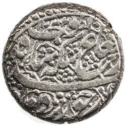 DURRANI: Ayyub Shah, 1817-1829, AR rupee (10.59g), Kabul, AH1234 year one (ahad). EF
