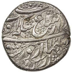 DURRANI: Ayyub Shah, 1817-1829, AR rupee (10.55g), Kabul, AH(12)39//1238. AU