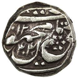 DURRANI: Mahmud Shah, local types, AR rupee (10.79g), Derajat, AH1244. VF