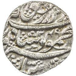 DURRANI: Mahmud Shah, local types, AR rupee (10.95g), Bahawalpur, AH1249//[12]50. AU