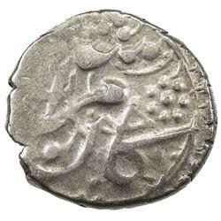 DURRANI: Kamran Shah, 1829-1842, AR jendek (1/6 rupee) (1.84g), Herat, AH(1)257. VF