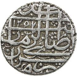 BARAKZAI: Muhammad Zaman, 1841-1842/1st reign, AR rupee (9.28g), Kabul, AH1257. VF