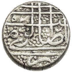 BARAKZAI: Muhammad Zaman, 1841-1842/1st reign, AR rupee (9.34g), Kabul, AH(12)57. VF-EF