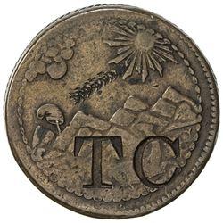 CEYLON: T.C. AE token (12.65g)
