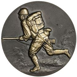 JAPAN: Showa, 1926-1989, bronze medal (87g), year 12 (1937). UNC