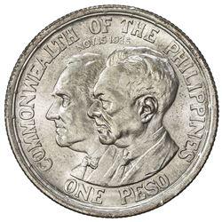 PHILIPPINES: Commonwealth, AR peso, 1936-M. BU