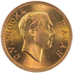 SARAWAK: Charles V. Brooke, 1917-1946, AE cent, 1933-H