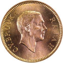 SARAWAK: Charles V. Brooke, 1917-1946, AE cent, 1941-H
