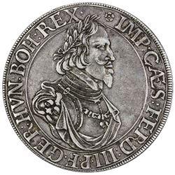 AUGSBURG (IMPERIAL CITY): Ferdinand III, 1637-1657, AR thaler, 1641. VF
