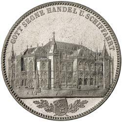 BREMEN: Free City, AR thaler, 1864. UNC