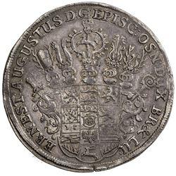 BRUNSWICK-LUNEBURG-CALENBERG: Ernst August, 1679-1698, AR thaler, 1681. EF-AU