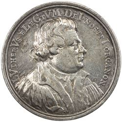 NUREMBERG: AR double ducat (5.72g), 1717. VF