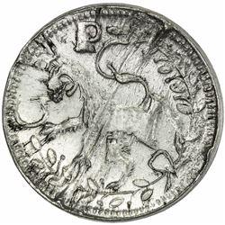 PFALZ: Johann Wilhelm von Neuburg, 1690-1716, 2 albus trial strike (7.57g), ND [1700-8]. AU