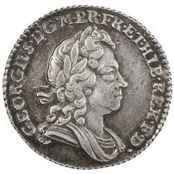 GREAT BRITAIN: George I, 1714-1727, AR sixpence, 1723. EF-AU