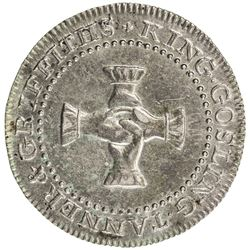 GREAT BRITAIN: AR sixpence token, 1811. EF-AU