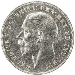 GREAT BRITAIN: George V, 1910-1935, AR crown, 1935. PCGS SP