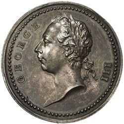 GREAT BRITAIN: AR medal (25.87g), 1760. AU