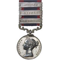 GREAT BRITAIN: Victoria, 1837-1901, AR medal. EF
