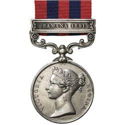 GREAT BRITAIN: Victoria, 1837-1901, AR medal. VF