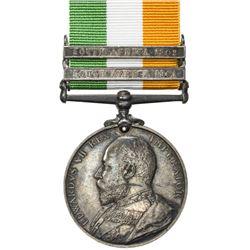 GREAT BRITAIN: Edward VII, 1901-1910, AR medal. EF