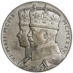 GREAT BRITAIN: George V, 1910-1936, AR jubilee medal (86.89g), 1935. UNC
