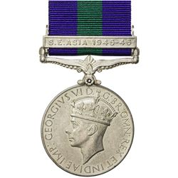 GREAT BRITAIN: George VI, 1936-1952, AR medal. EF