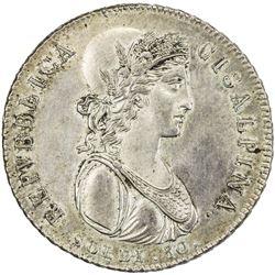 CISALPINE REPUBLIC: AR 30 soldi (7.37g), year IX (1801). AU