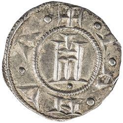 GENOA: Republic, 1139-1339, AR grosso (1.32g). EF