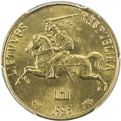 LITHUANIA: Republic, 10 centu, 1925