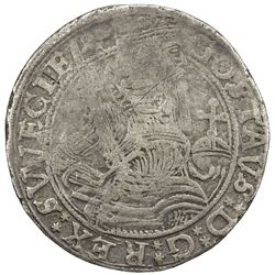 SWEDEN: Gustaf I Vasa, 1523-1560, AR mark (28.8g), 1559. F-VF