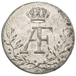 SWEDEN: Adolf Friedrich, 1751-1771, AR ore (1.11g), 1754. AU