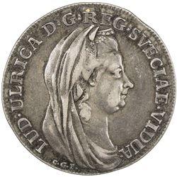 SWEDEN: AR 4 mark largesse, 1782. F-VF