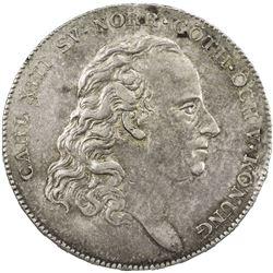SWEDEN: Carl XIII, 1809-1818, AR riksdaler, 1816. EF