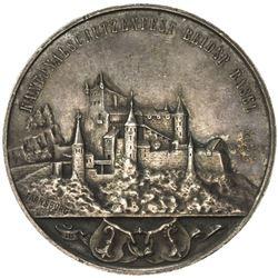 BASEL: AR shooting medal (24.85g), 1897. EF-AU