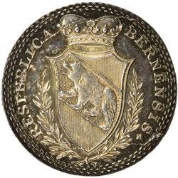 BERN: AR medal (14.70g), ND (ca. 1820). UNC