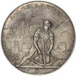 BERN: AR shooting medal (40.04g), 1894. UNC