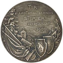 BERN: AR shooting medal (39.75g), 1900. AU