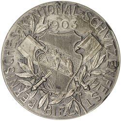 BERN: AR shooting medal (38.54g), 1903. AU