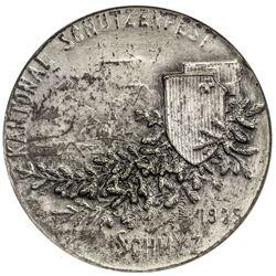 ST. GALLEN: AR shooting medal, 1905. NGC MS63
