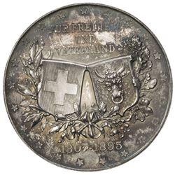 URI: AR medal (50.45g), 1895. UNC