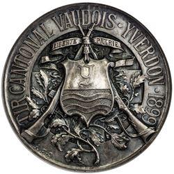 VAUD: AR shooting medal, 1899. NGC MS62
