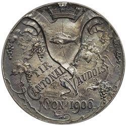 VAUD: AR shooting medal (15.99g), 1906. UNC