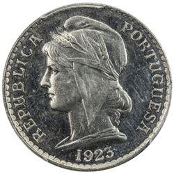 ANGOLA: nickel 50 centavos, 1923, King's Norton Mint, PCGS graded Specimen 62