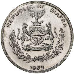 BIAFRA: Republic, AR pound, 1969. UNC