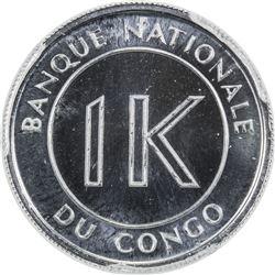CONGO (DEMOCRATIC REPUBLIC): 1 likuta, 1967. PCGS SP