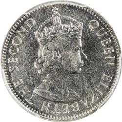 EAST AFRICA: Elizabeth II, 1952-1963, 50 cents, 1956-KN. PCGS SP