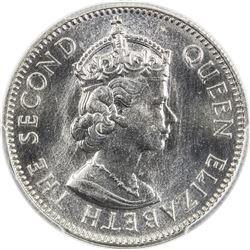 EAST AFRICA: Elizabeth II, 1952-1963, 50 cents, 1962-KN. PCGS SP