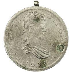 EGYPT: advertising token, 1920. VF