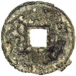 WARRING STATES: State of Qi, 300-220 BC, AE cash (9.98g). F